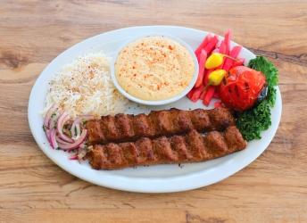 Beef Lule Kabob Plate