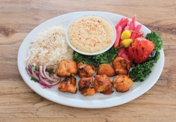 Chicken Shish Plate